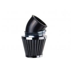 """Filtr powietrza stożkowy chrom 45"""" śred. 35mm"""