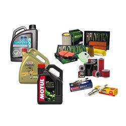 Olej Filtr Powietrza Świece KN Honda CBF 600 04-07